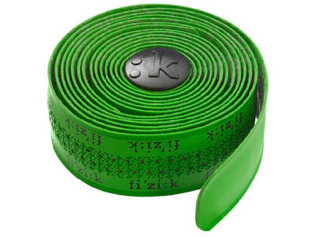 Fizik Superlight Tacky Styrbånd Fizik-logo grøn (2019)   Bar tape